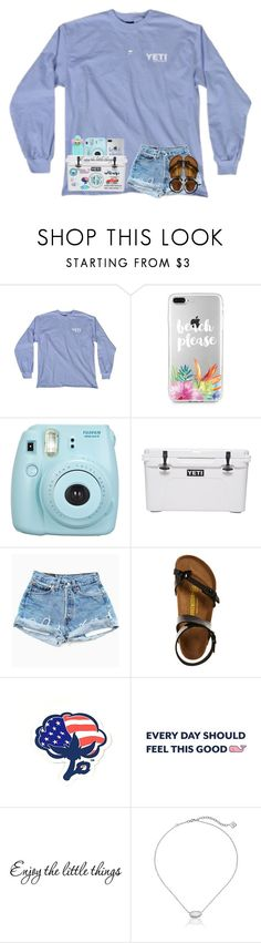 """i wanna live w/ you, even when we're ghost"" by arieannahicks on Polyvore featuring Fujifilm, Birkenstock, Southern Proper, Lilly Pulitzer, WALL and Kendra Scott"