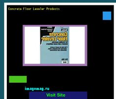 Concrete Floor Leveler Products 190354 - The Best Image Search