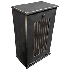 Unique Commercial Trash Can Cabinet