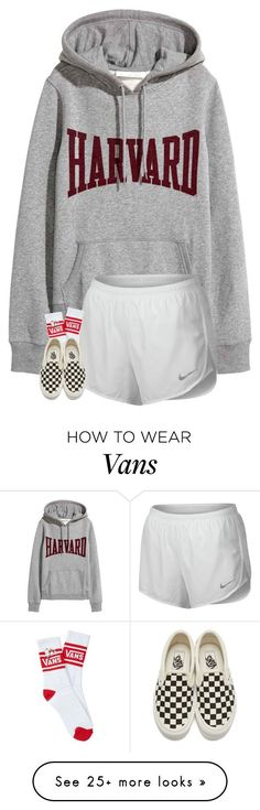 """""""loveee these shoes"""" by blonde-prepster on Polyvore featuring NIKE and Vans"""