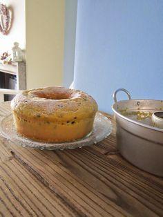 La casa delle briciole: Ciambellone ricotta e gocce di cioccolato con cottura in pentola fornetto