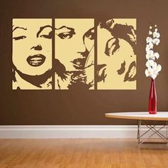 I wonder if my boyfriend would care if I put this decal in our apartment living room?!