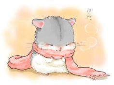 I honestly love hamsters 😍😍 Art Kawaii, Arte Do Kawaii, Kawaii Chibi, Cute Chibi, Anime Chibi, Anime Art, Cute Animal Drawings, Kawaii Drawings, Cute Drawings