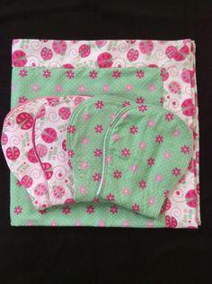Love Bug Ladybug Receiving Blanket by SewCalLove :) just one of my side hobbies