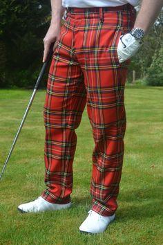 Mens Royal Stewart Tartan Trousers