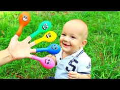 Baby doll bath time learn colors 3D Candy Play Drinking Milk - Colours for Kids Children Part 2 - YouTube