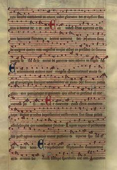 Moosburger Graduale um 1360 Moosburg Cim. 100 (= 2° Cod. ms. 156)  Folio 450