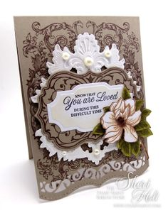 My Sheri CARDS: The Stamp Simply Ribbon Store - You Are Loved