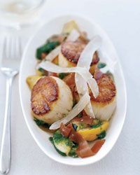 Scallops with Summer Squash Recipe on Food & Wine