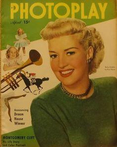 Betty Grable April 1949