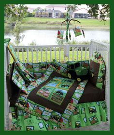 John Deere Baby Bedding | NEW baby crib bedding set BRAND NEW JOHN DEERE Nursery theme ... In Tyson's dream