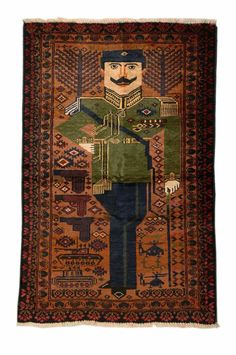 Afghanistan's women weavers have transformed traditional textiles into amazing and complex icons of war, change, and modernity Persian Carpet, Persian Rug, Wool Carpet, Rugs On Carpet, Textiles, Arte Popular, Magic Carpet, Afghan Rugs, Carpet Colors