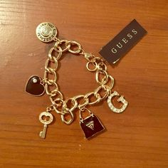 Guess charm bracelet Never been used brand-new guess charm bracelet Guess Accessories