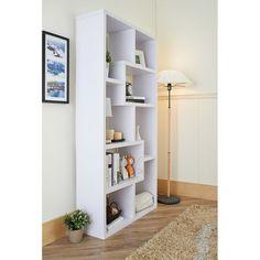 Bradshaw Bookcase in White