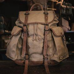 Buffalo Jackson   Rugged Leather Goods   Clothes for Men. Waxed Canvas  BagCanvas ... a1ca71a234