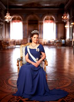THE PRINCESS H.R.H. Crown Princess Victoria of Sweden, Duchess of Vastergotland