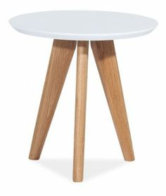 Home Design :: Stolik White-Wood Mini (S_MILANS1)
