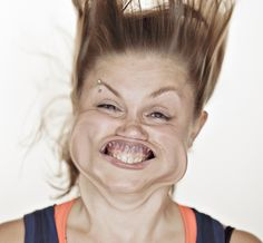 Hahaha... These photographs of people being blasted by wind in the face are priceless!