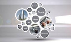812 best prezi templates images on pinterest in 2018 3d circles structure professional business presentation prezi next template wajeb Images