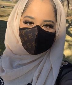 Dolly's Designer Dustmasks😷🔥 order one today or pick up if you're in dfw *select styles available Mouth Mask Fashion, Fashion Mask, Nose Mask, Easy Face Masks, Respirator Mask, Free To Use Images, Protective Mask, Louis Vuitton Accessories, Beautiful Hijab
