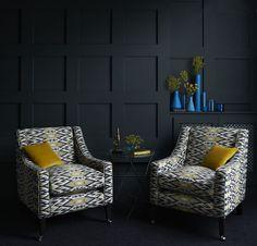 Salon #clarkeandclarke #fabric #winter
