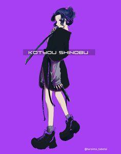 Kimetsu no Yaiba Kochou Shinobu🦋 Manga Anime, Anime Demon, Anime Art, Demon Slayer, Slayer Anime, Gekkan Shoujo, Human Emotions, Rwby, Anime Style