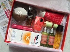 Glamour Summer Edit: My recent goodie box from Lastest In Beauty