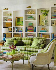 bookshelves :)