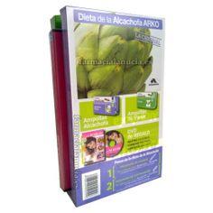 Dieta de la Alcachofa ARKO 10 amp Alcachofa + 10 amp Te verde +