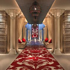 ITC Mughal - Agra, India. Kaya Kalp — The Royal Spa is one of the largest spas in all of Asia. Regal treatment suites and meandering gardens featuring traditional Mughal landscaping.