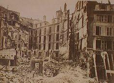 Carrefour de la Croix-rouge., Siege of Paris, Special Collections, Northwestern University Library