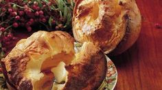 Looking for tasty bread made using Gold Medal® Wondra® flour? Enjoy these delicious garlic flavored baked popovers - perfect accompaniment to your meal.