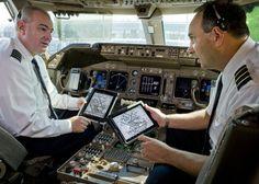 Iberia Cambia el Papel por el iPad en las Cabinas de sus Aviones