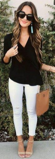 45 Popular And Lovely Outfit Ideas From American Fashionista : Lauren Kay Sims - Stylish OMG Fall Night Outfit, Night Outfits, Outfit Winter, Mode Outfits, Casual Outfits, Fashion Outfits, White Outfits, Fashion Ideas, Dress Fashion