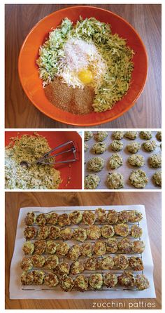 zucchini patties - looking for zucchini recipes for the summer when our garden is producing crazy zucchini
