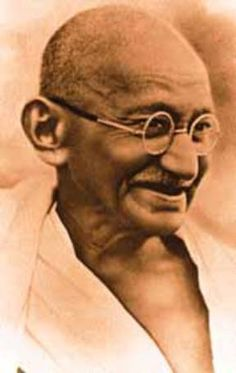 """I will not let anyone walk through my mind with their dirty feet.""  ...M.K.Gandhi."