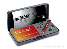Promotional Mag-lite flashlight products available at MAGLITEPROMO.COM - Solitaire