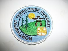 Northwest Territories ~ Nunavut Girl Guides of Canada patch. #GGC #Girl_Guides #patches