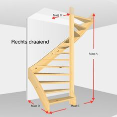 Spiral Stairs Design, Staircase Design Modern, Home Stairs Design, Modern Stairs, Stair Design, Space Saving Staircase, Loft Staircase, Staircase Ideas, Tiny House Stairs