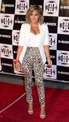 Adrienne Bailon at the Casio G-Shock Red Carpet