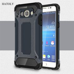 For Samsung Galaxy J7 2016 Case Heavy Duty Armor Slim Hard Tough Rubber Cover Silicon Phone Case for Samsung J7 2016 J710 J710F<