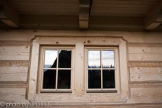 classical timber frame window