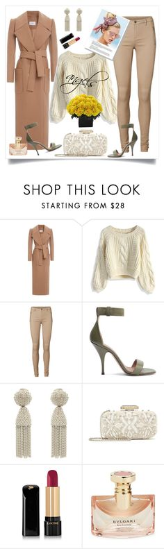 """""""freestyle"""" by justaguyfromfrance ❤ liked on Polyvore featuring Carven, Chicwish, Vero Moda, Givenchy, Beach Riot, Oscar de la Renta, Lancôme and Bulgari"""
