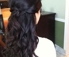 bridal hair down - Googleda Ara