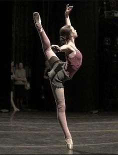 Dance - Warm up on stage
