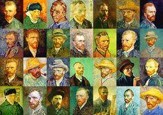 the many self portraits of van gogh