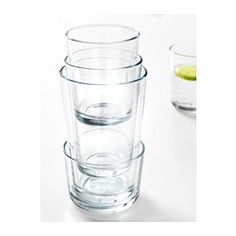 IKEA 365+ Glass, clear glass - clear glass - 15 oz - IKEA