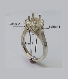 This tutorial teaches multi-faceted skills all combined in making this gem encrusted halo ring. You will be shown how to plan the layout of the halo crown, do the piercing for the basket. The curvature for the gallery  completes the design. Soldering skills are mastered with soldering the prongs and all the components together. metalsmithing, pdf jewelry tutorials, advanced jewelry making.