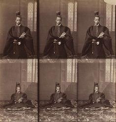 Tokugawa Akitake, Younger Brother of the Shogun, 1867