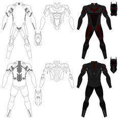Batman Beyond Costume, any ideas? - The SuperHeroHype Forums Dc Costumes, Batman Costumes, Batman Cosplay, Batman Outfits, Batman Beyond Costume, Batman Beyond Suit, Nightwing, Batgirl, Red Hood Comic